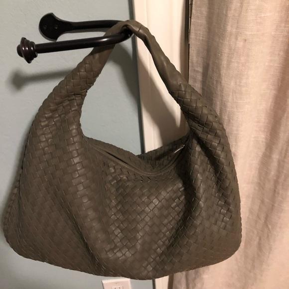 a3df66124f7 Bottega Veneta Bags   Intrecciato Large Woven Hobo Bag   Poshmark